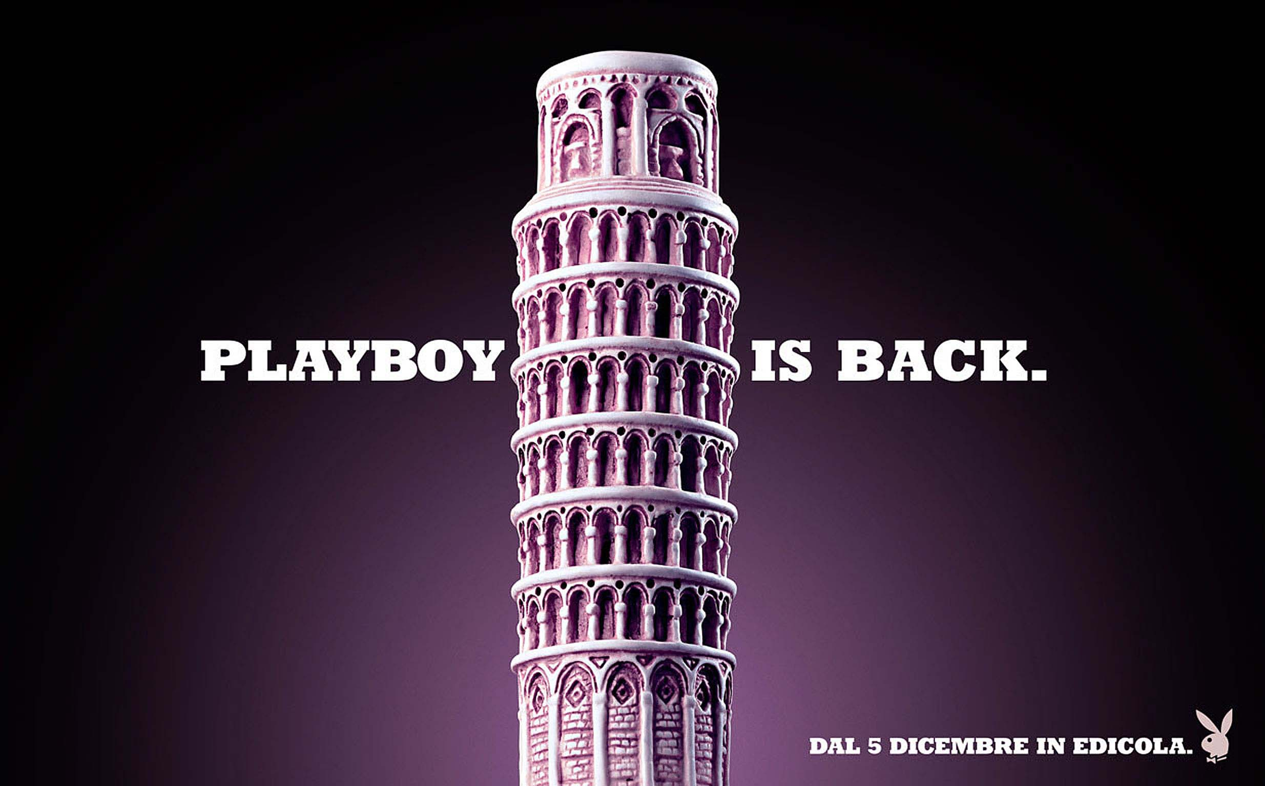 Playboy is back.
